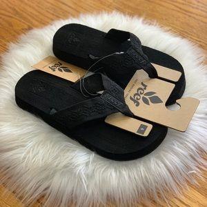Reef Women's Sandy woman sandals flip flop Black